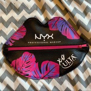 NYX Lips Cosmetic Bag